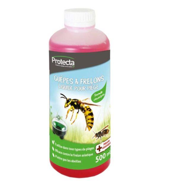 Liquide attirant les guêpes, frelons et mouches pour les pièges