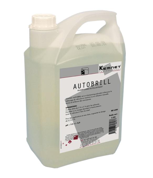 Bidon 5L Shampoing Autobrill pour professionnels automobiles