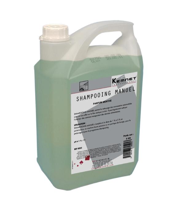 Bidon 5L shampoing manuel pour véhicules pour professionnels