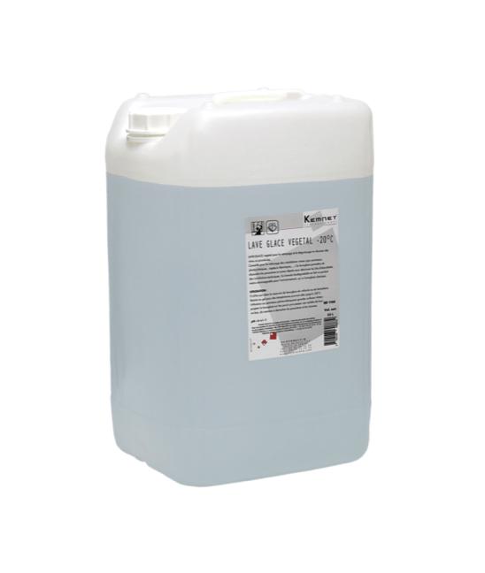 Bidon 25L liquide lave-glace végétal -20° pour professionnels