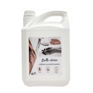 Bidon 5L crème lavante pour les mains Bulle chérie